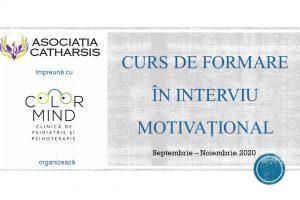 Curs formare Interviu Motivațional